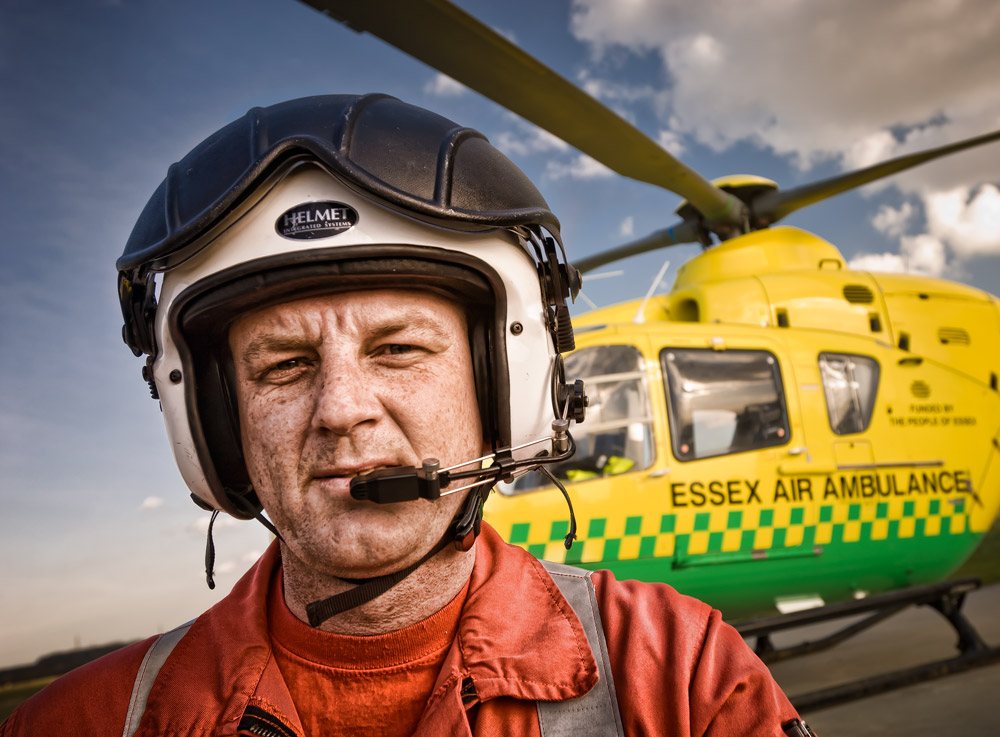 Aviation Photography 004 - Essex Air Ambulance air crew