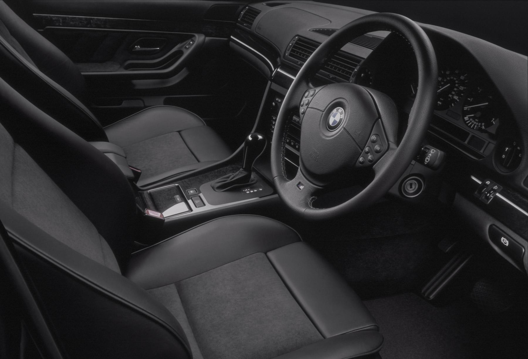 car photography 014 black leather interior. Black Bedroom Furniture Sets. Home Design Ideas